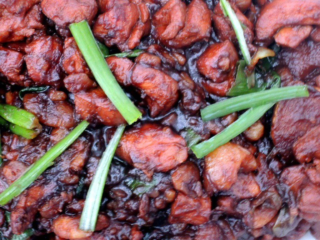 Chicken, fricassees, ban li shao ji (Chinese chicken with chestnuts) 3