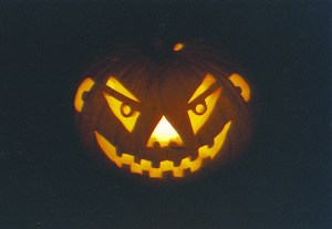 Halloween jack-o-lantern 1