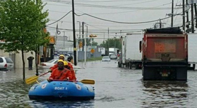 29 rescued from flooding in N.J.'s largest city