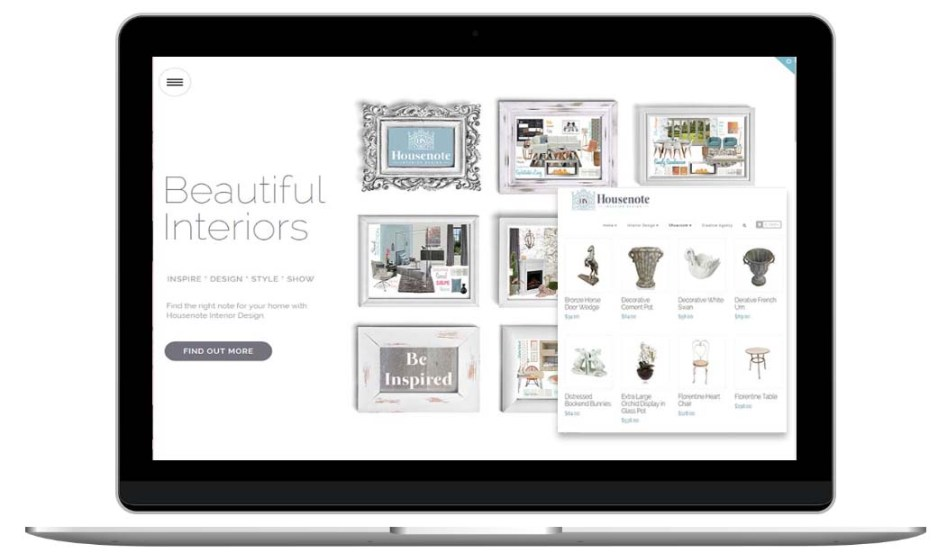 Interior Design Website by The Web Composer
