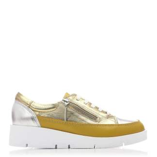 Moda In Pelle Beena Yellow Leather