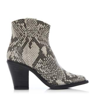 Moda In Pelle Crusade Natural Snake Print