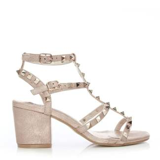Moda In Pelle Mima Rose Gold Porvair
