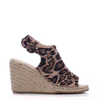 Moda In Pelle Rose Leopard Fabric