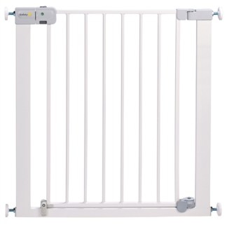 Safety 1st Safety 1st Auto Close Metal Baby Gate - White