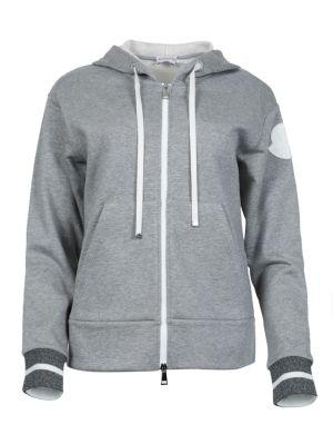 Zip Through Hoodie, Grey