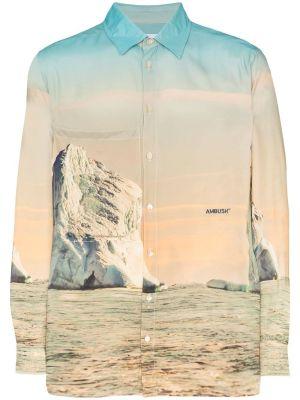 Iceberg Print Shirt