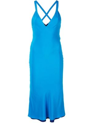 Deep V-neck Dress
