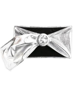 Leather Metallic Waist Belt