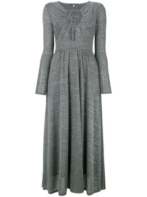 Key-hole Flared Dress