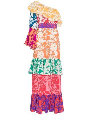 Penelope Floral Print Silk Dress