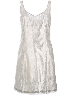 Round Neck Fitted Cocktail Dress