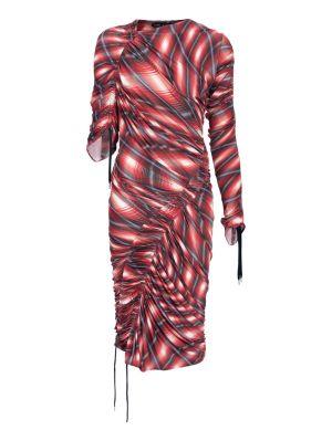 Printed Wave Mini Dress