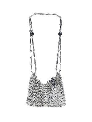 Silver Nano 69 Chainmail Bag