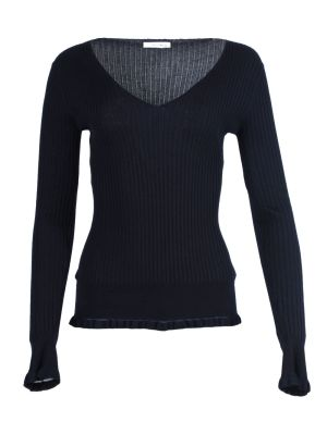 Arthur Long-sleeve Cashmere-silk Top