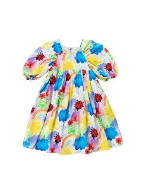 Kids Puff Sleeve Weather Tencel Dress