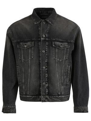 Dirty Vintage Black Denim Jacket