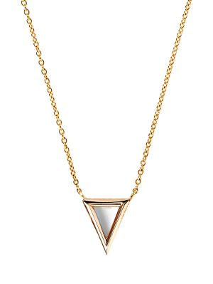 18k Rose Gold Apex Pendant Necklace