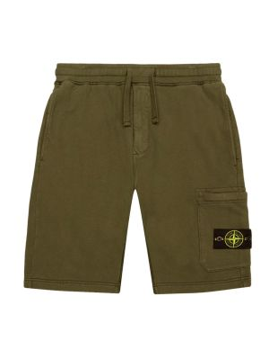 Fleece Cotton Sweat Shorts