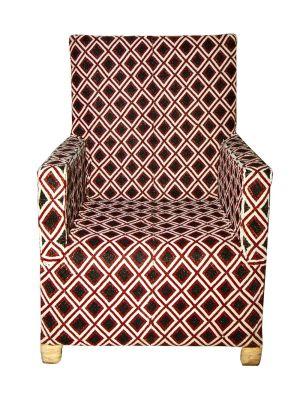 Bespoke Diamond Pattern Chair