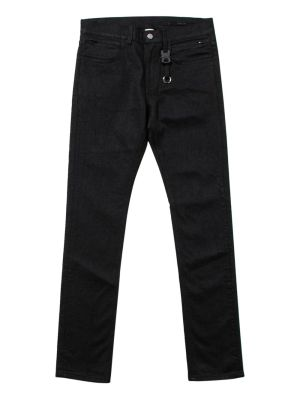 Black Classic Jean With Nylon Buckle