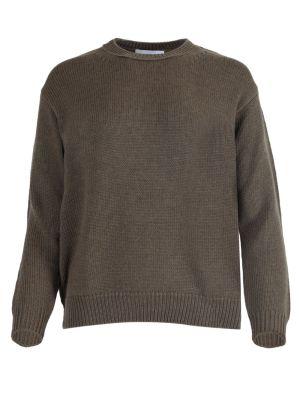 Bettina Kaki Wool Sweater
