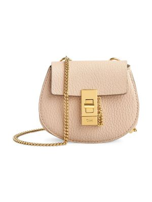 Mini Drew Cross-body Bag, Cement Pink
