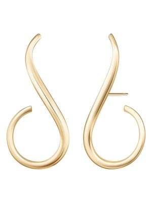 18k Yellow Gold Aria Grace Earring