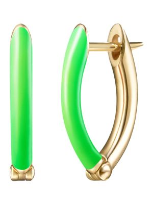 18k Yellow Gold Cristina Earring