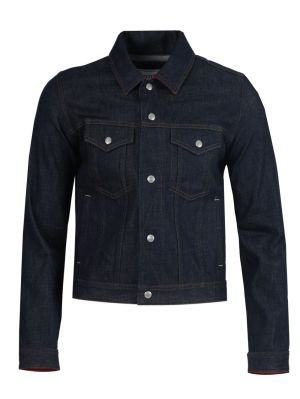 Dark Blue Classic Denim Jacket