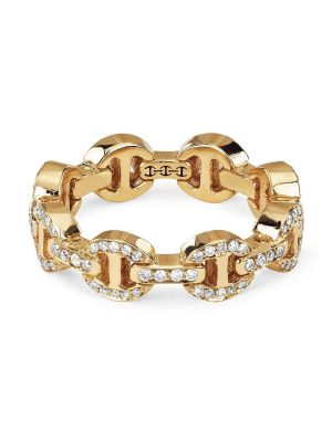 Dame Tri-link Antiquated Ring