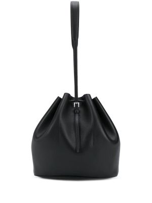 Black Holster Medium Bucket Bag