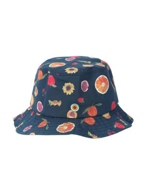 The Stone Crab Hat, Fruit Print
