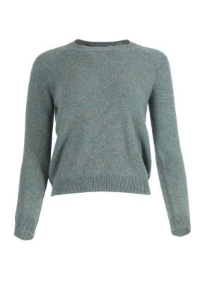 Mila Cashmere Tweed Sweater