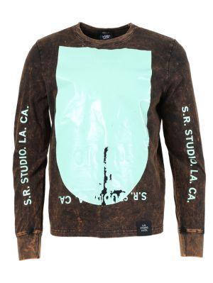 Mineral Black Long-sleeve T-shirt