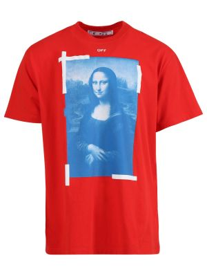 Blue Mona Lisa Short Sleeve T-shirt