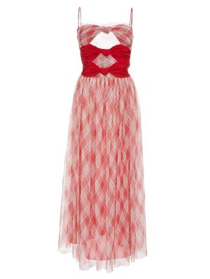 Red Lace Cami Dress