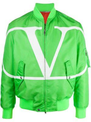 Florescent Green Bomber Jacket