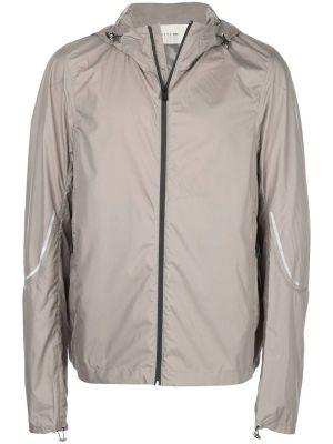 Grey Windbreaker Jacket