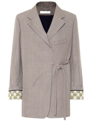 Wrap-around Blazer Jacket