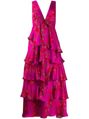 Flavia Floral Ruffled Dress