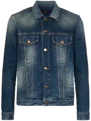 Sarape Knit Denim Jacket