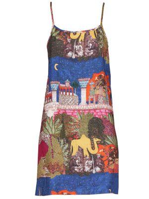 Camel Reversible Slip Dress