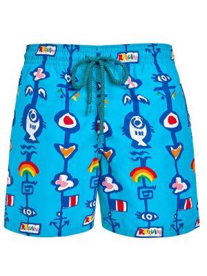 Vilebrequin X Jean Charles De Castelbajac Tropical Printed Swim Shorts