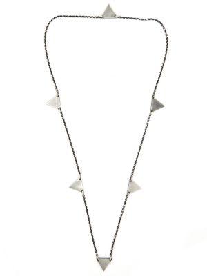 Geo Multi Triangle Necklace