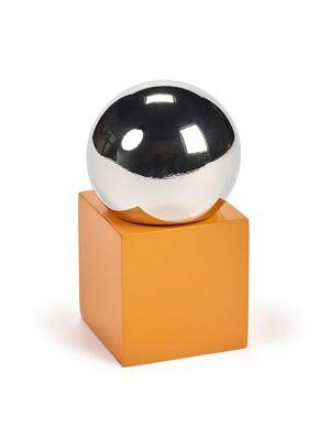 Sculptural Pepper Mill Orange