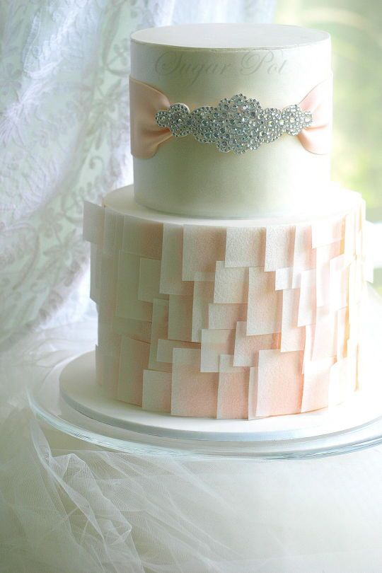 Wedding Cake Wednesday Wafer Paper Decorations
