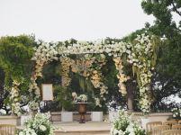 Lush Floral Ceremony by Debbie Geller