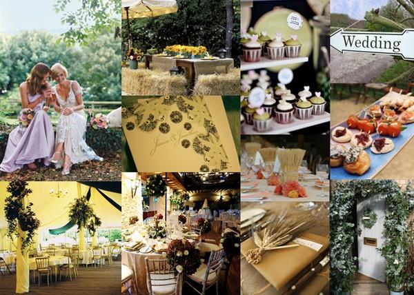 Moody Monday - Country Weddings