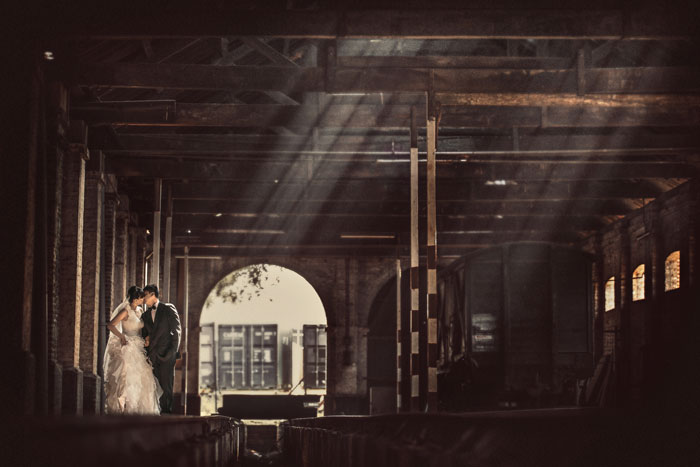 Dramatic bridal portraits. Photography by Kennfoo Weddings